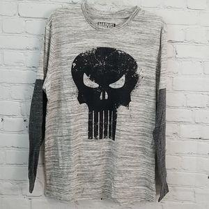 MARVEL The Punisher Long Sleeve T Shirt